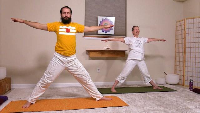 Hatha Yoga - Level 2 with Sridevi Jones - Class 2