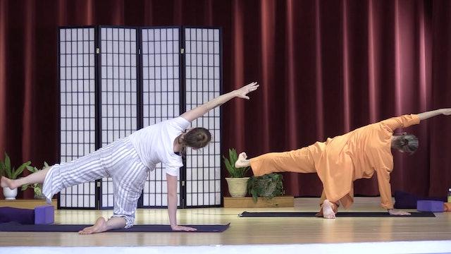 Hatha Yoga - Level 2-3 with Saci Murphy - Class 1