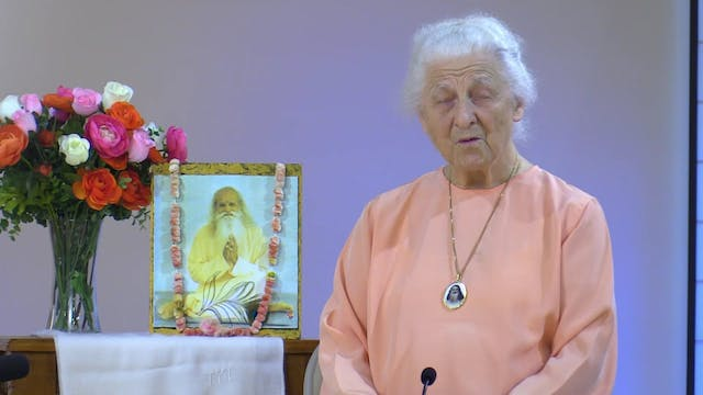 Guided Meditation II with Mataji