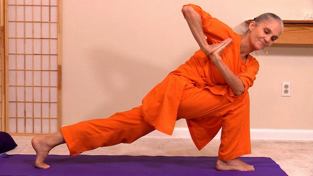 Hatha Yoga - Level 2-3 Conditioning and Strength with Swami Arivananda