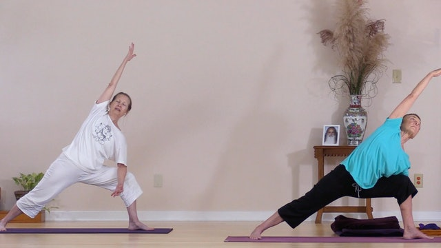 Hatha Yoga - Level 2 with Sridevi Jones - Class 1