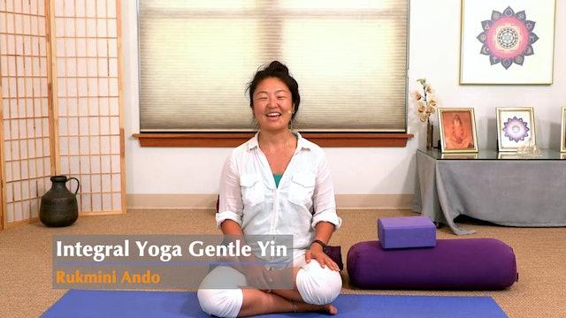 Gentle Yin Yoga with Rukmini Ando - Class 3