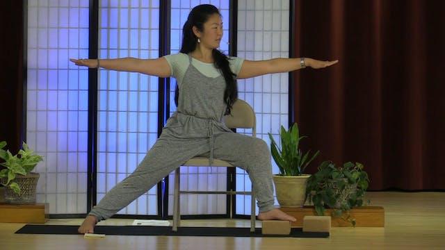 Chair Yoga with Rukmini Ando - Class 1