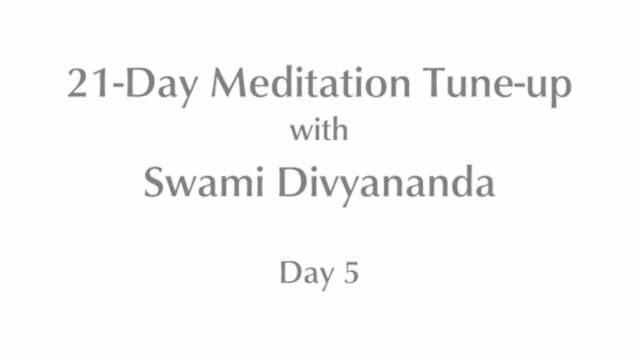 21-Day Mediation Tune-up: Day 5 with ...