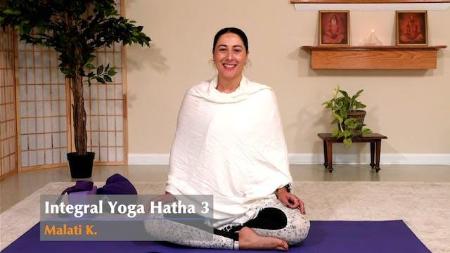Hatha Yoga - Level 3 with Malati Kura...