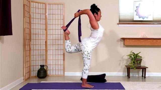 Hatha Yoga - Level 3: Improve Your Balance with Rukmini Ando
