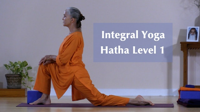 Hatha Yoga - Level 1 with Swami Arivananda - Class 4