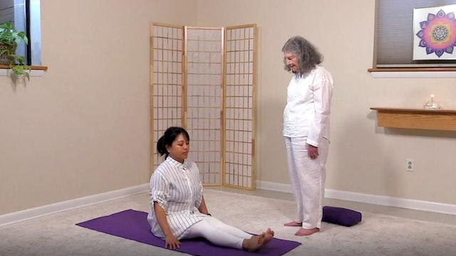 Hatha Yoga with Rev. Kumari de Sachy