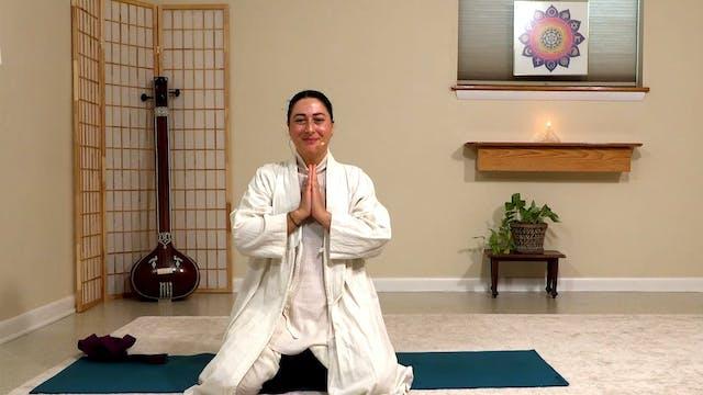 Hatha Yoga - Level 2-3 with Malati Ku...