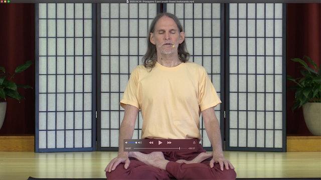 Dirgha Svasam: The 3-part breath with Swami Asokananda