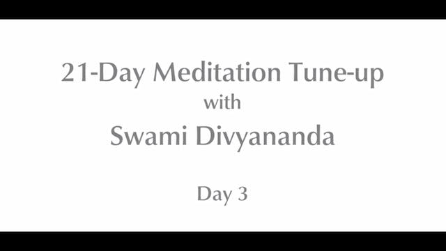 21-Day Mediation Tune-up: Day 3 with ...
