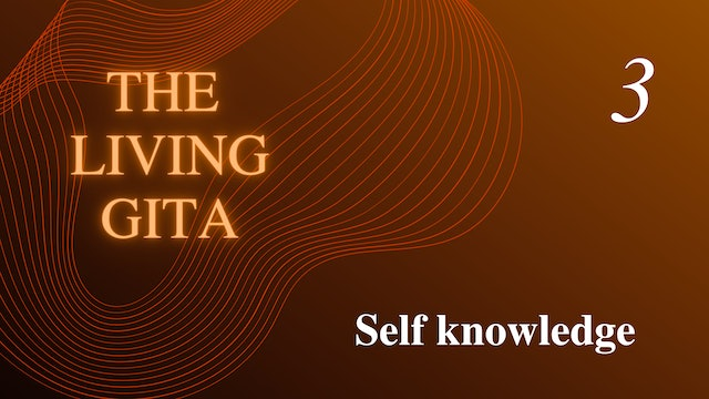 Part 3: Self knowledge
