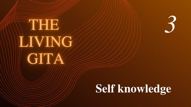 Part 3: Self knowledge