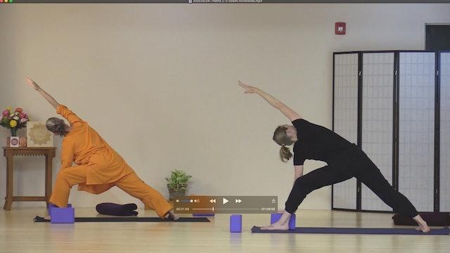 Hatha Yoga - Level 2-3 with Saci Murphy - Class 2