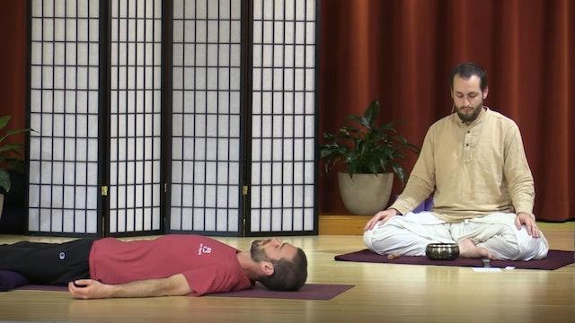 Yoga Nidra, Pranayama, and Meditation with Narada Williams