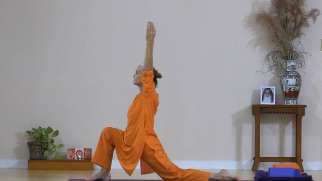Hatha Yoga - Level 1 with Swami Arivananda - Class 5