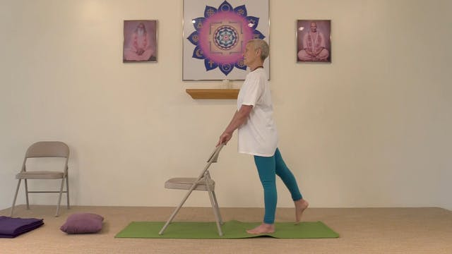 Chair Yoga with Satya Greenstone