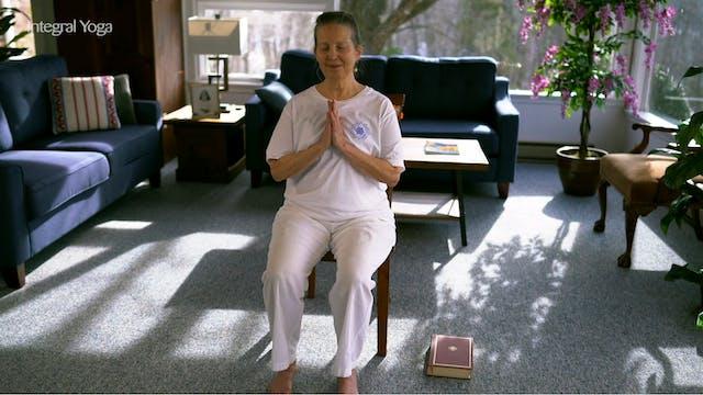 Chair Yoga: 30-min class with Sridevi