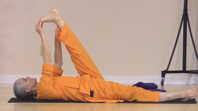 Hatha Yoga - Level 2-3 with Swami Arivananda - Class 9