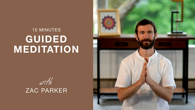Guided Integral Yoga Meditation with Zac Parker