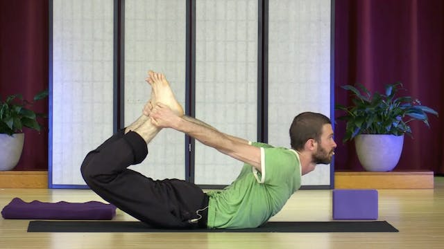 Hatha Yoga - Level 2-3 with Zac Parker