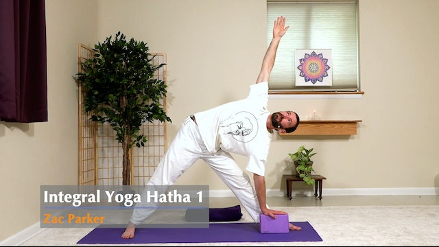 Hatha Yoga - Level 1 with Zac Parker - Class 1