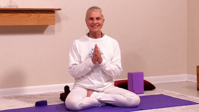 Hatha Yoga - Beginners Level 1: Part 1 of 4 with Satya Greenstone