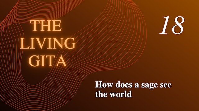 Part 18: How does a Sage See the World