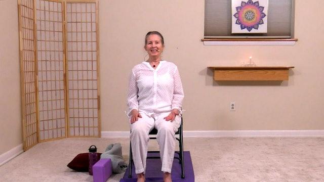 Level 1 Pranayama & Meditation in a Chair with Sridevi Jones