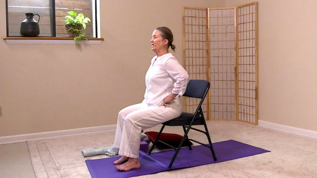 Hatha Yoga - Part 1: Chair to There w...