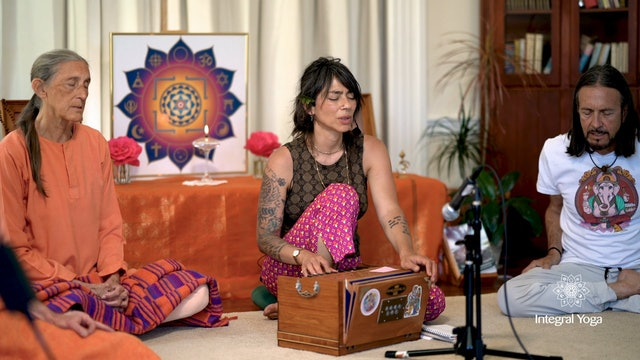 The Integral Yoga Community Sangha Kirtan I with Astrud Castillo