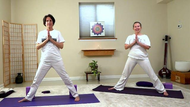 Hatha Yoga - Level 1 with Sridevi Jones