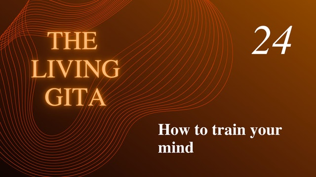 Part 24: How to Train Your Mind