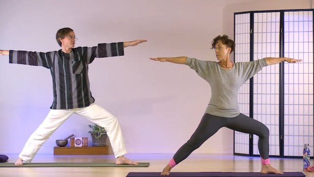 Hatha Yoga - Level 1 with Mitra Somer...
