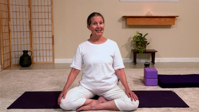 Hatha Yoga - Part 3: Chair to There with Sridevi Jones