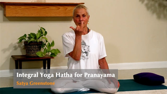 Integral Yoga Hatha for Pranayama with Satya Greenstone