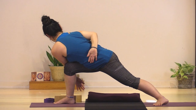 Hatha Yoga - Level 3 with Rukmini Ando - Class 2