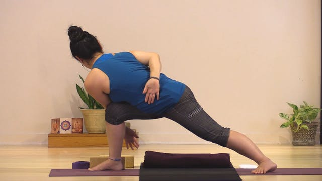Hatha Yoga - Level 3 with Rukmini And...