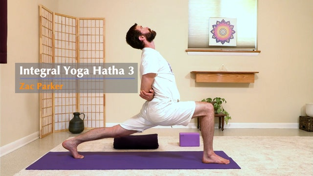 Hatha Yoga - Level 3 with Zac Parker - Class 3