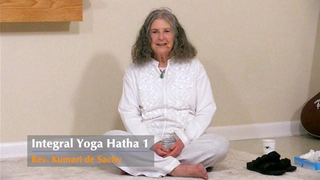 Hatha Yoga - Level 1 with Rev. Kumari de Sachy - Class 2