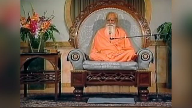 Dhyana, Meditation - A Talk by Sri Sw...