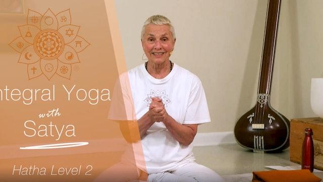 Hatha Yoga - 60-min. Level 2 with Satya Greenstone