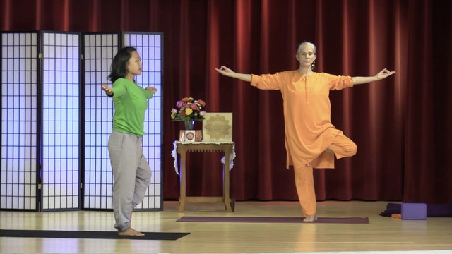 Hatha Yoga - Mixed Level with Swami Arivananda - Class 3