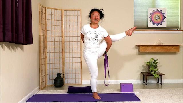 Hatha Yoga - Level 3: 60-min class with Rukmini Ando