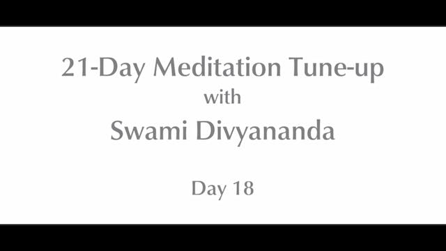 21-Day Mediation Tune-up: Day 18 with...