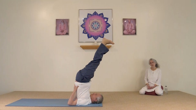 Hatha Yoga - Level 1 with Rev. Bharati Gardino