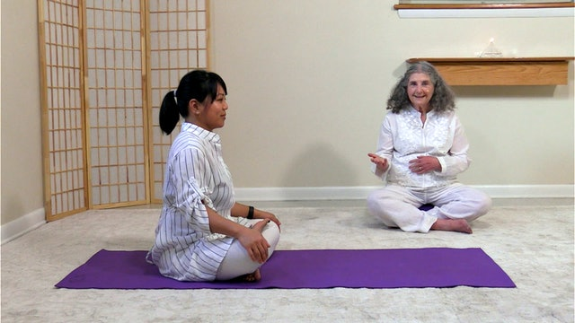 Hatha Yoga - Level 1 with Rev. Kumari de Sachy - Class 1