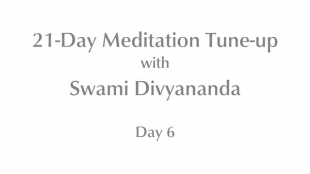 21-Day Mediation Tune-up: Day 6 with ...