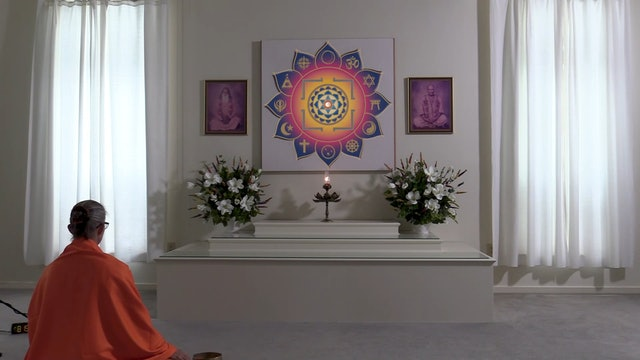 45-min. Meditation with Swami Arivananda