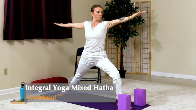 Hatha Yoga - Mixed Level with Alex Is...